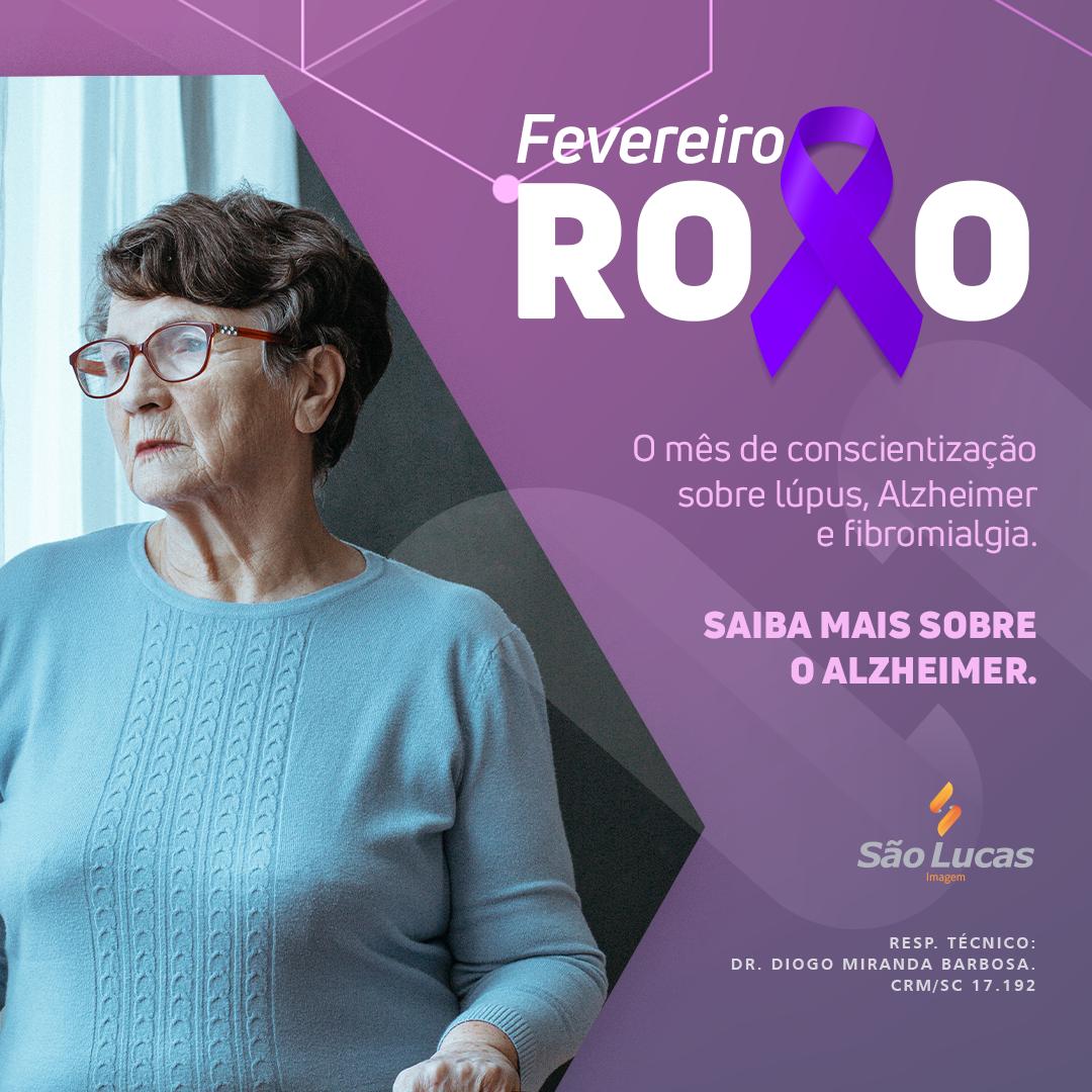 Fevereiro Roxo, conscientização sobre doenças sem cura.