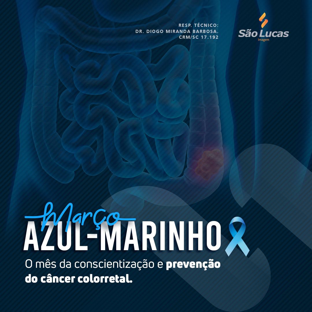 Março Azul-Marinho, faça parte dessa causa!
