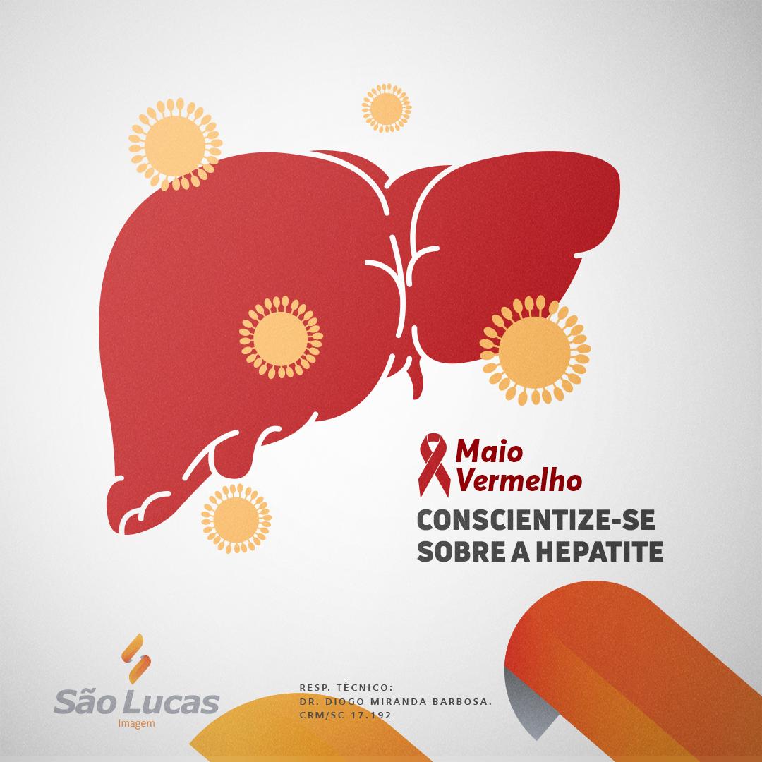 Maio Vermelho – Conscientize-se sobre a hepatite