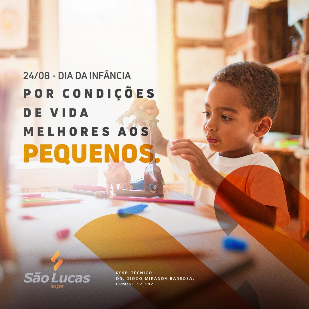 Dia da infância: por condições de vida melhores aos pequenos.